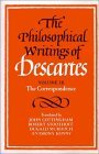 Philosophical Writings of Descartes The Correspondence 1991 9780521423502 Front Cover