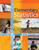 Elementary Statistics 11th 2011 Revised 9780538733502 Front Cover