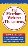 Merriam-Webster Thesaurus 2006 9780877798507 Front Cover