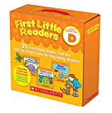 First Little Readers 25 Irresistible Books That Are Just the Right Level for Beginning Readers 2017 9781338111507 Front Cover