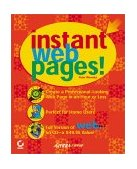 Instant Web Pages! 2001 9780782127508 Front Cover