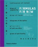 Formulas for Now 2008 9780500238509 Front Cover