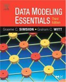 Data Modeling Essentials 3rd 2004 Revised  9780126445510 Front Cover