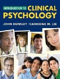 Introduction to Clinical Psychology An Evidence-Based Approach 2009 9780470437513 Front Cover
