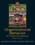 Organizational Behavior An Experiential Approach