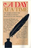 Day at a Time The Diary Literature of American Women Writers from 1764 to the Present 1st 1993 9780935312515 Front Cover