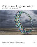 Algebra and Trigonometry with Analytic Geometry 13th 2011 Revised  9780840068521 Front Cover