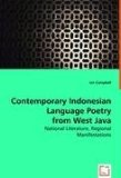 Contemporary Indonesian Language Poetry from West Java: 2008 9783639009521 Front Cover