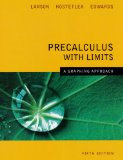 Precalculus with Limits A Graphing Approach 5e 5th 2007 9780618851522 Front Cover