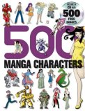 500 Manga Characters 2007 9780061256523 Front Cover