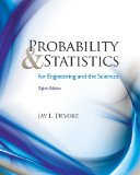 Probability and Statistics for Engineering and the Sciences 8th 2011 9780538733526 Front Cover