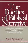 Poetics of Biblical Narrative Ideological Literature and the Drama of Reading 1987 9780253204530 Front Cover