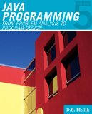 Java Programming From Problem Analysis to Program Design 5th 2011 Revised 9781111530532 Front Cover
