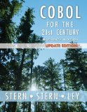COBOL for the 21st Century 11th 2013 Revised 9781118739532 Front Cover