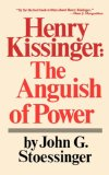 Henry Kissinger The Anguish of Power 1977 9780393091533 Front Cover
