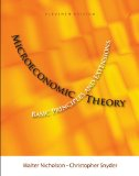Microeconomic Theory Basic Principles and Extensions 11th 2011 9781111525538 Front Cover