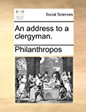 Address to a Clergyman 2010 9781170813539 Front Cover