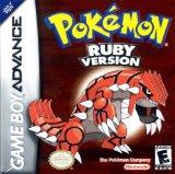Case art for Pokémon Ruby Version