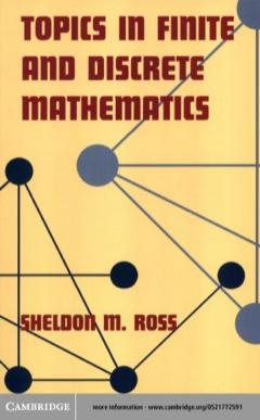Topics in Finite and Discrete Mathematics 2005 9780511034541 Front Cover