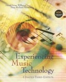 Experiencing Music Technology 3rd 2008 Revised  9780495565543 Front Cover