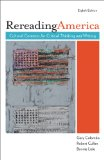 Rereading America Cultural Contexts for Critical Thinking and Writing 9780312548544 Front Cover
