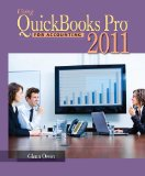 Using Quickbooks Pro for Accounting 2011 10th 2011 9781111822545 Front Cover