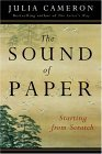 Sound of Paper Starting from Scratch 2005 9781585423545 Front Cover