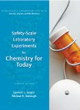 Safety-Scale Laboratory Experiments for Chemistry for Today 7th 2010 9780538734547 Front Cover