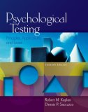Psychological Testing Principles, Applications, and Issues 7th 2008 9780495095552 Front Cover