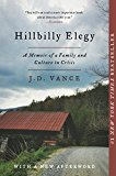 Hillbilly Elegy A Memoir of a Family and Culture in Crisis 2018 9780062300553 Front Cover