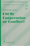 CSCW Cooperation or Conflict? 1993 9783540197553 Front Cover