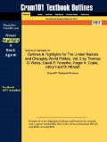 Outlines and Highlights for the United Nations and Changing World Politics 5th 2014 9781428875555 Front Cover