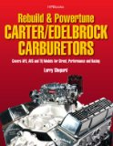 Rebuild and Powetune Carter/Edelbrock Carburetors HP1555 Covers AFB, AVS and TQ Models for Street, Performance and Racing