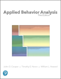 Applied Behavior Analysis: 2019 9780134752556 Front Cover