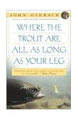 Where the Trout Are All As Long As Your Leg 1st 1993 Reprint 9780671754556 Front Cover