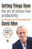 Getting Things Done The Art of Stress-Free Productivity 2015 9780143126560 Front Cover