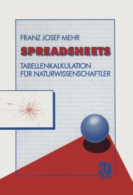 Spreadsheets Tabellenkalkulation F�r Naturwissenschaftler 1992 9783528052560 Front Cover