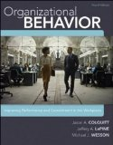 Organizational Behavior Improving Performance and Commitment in the Workplace 4th 2014 9780077862565 Front Cover