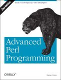 Advanced Perl Programming 2nd 2005 9780596004569 Front Cover