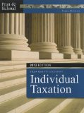 Study Guide for Pratt/Kulsrud's Individual Taxation 2012, 6th 1st 2011 9781111968571 Front Cover