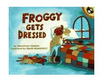Froggy Gets Dressed 1994 9780140544572 Front Cover