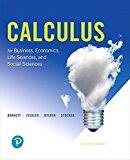 Calculus for Business, Economics, Life Sciences, and Social Sciences: