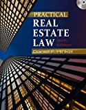 Studyware for Hinkel's Practical Real Estate Law, 6th 6th 2010 9781111538576 Front Cover