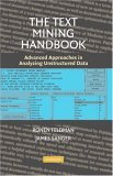 Text Mining Handbook Advanced Approaches in Analyzing Unstructured Data cover art