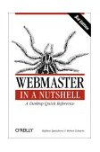 Webmaster in a Nutshell A Desktop Quick Reference 3rd 2002 9780596003579 Front Cover