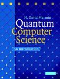 Quantum Computer Science An Introduction 2007 9780521876582 Front Cover