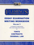 Essay Examination Writing Workbook, Volume 1