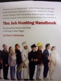 Job Hunting Handbook 2012 9780940712591 Front Cover