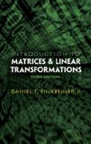 Introduction to Matrices and Linear Transformations 3rd 2011 9780486481593 Front Cover
