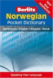 Norwegian - Berlitz Pocket Dictionary Norwegian-English, Engelsk-Norsk 2011 9789812469595 Front Cover
